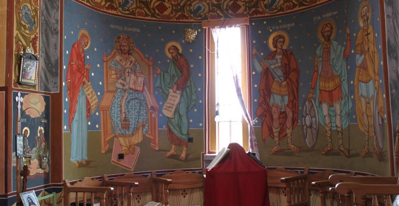 Strana bisericii din Budele